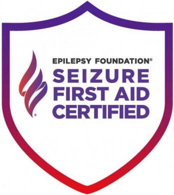 Seizure First Aid Certified Logo